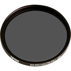 Tiffen IRND 0.6 Ultra Linear Polarizing Water White Glass Filter (138mm)