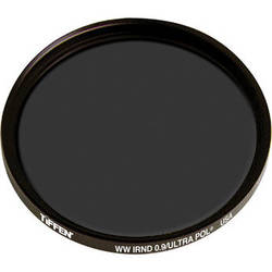 Tiffen IRND 0.9 Ultra Linear Polarizing Water White Glass Filter (138mm)