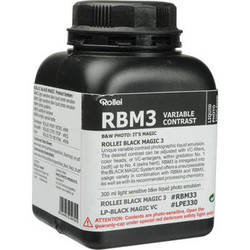 Rollei Maco Black Magic Liquid Emulsion, Variable Contrast (300ml)
