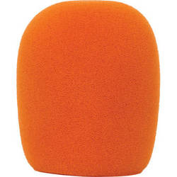 Galaxy Audio WS-HO Windscreen for Wired Handheld Microphones (Orange)