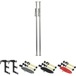 Impact Deluxe Varipole Support System (Silver)