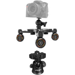 Cinetics CineSkates Pro Tabletop Dolly & Ballhead Kit