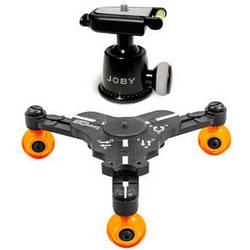 Cinetics miniSkates Pro Phone / Small Camera Dolly & Joby Ballhead Kit