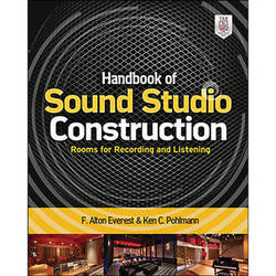 McGraw-Hill Book: Handbook of Sound Studio Construction: Rooms for Recording and Listening