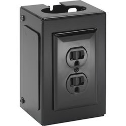 Chief FCA540 Fusion Power Outlet Assembly (Black)