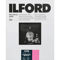 "Ilford Multigrade IV RC DeLuxe Paper (Pearl, 8 x 10"", 1000 Sheets)"