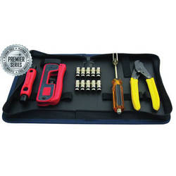 Platinum Tools 90201 Premier CATV Connectivity Kit