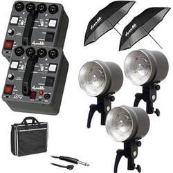Dynalite MK4-2302V RoadMax 400W/s 2 Pack 3 Head Kit (120V)