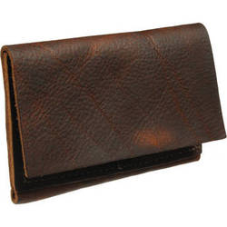 HoldFast Gear Indispensable Wallet for Memory Cards (Brown Kodiak)