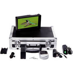 ikan VH8 Field Monitor Deluxe Kit with Canon LP-E6 Type Battery