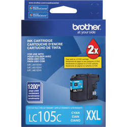 Brother LC105 Innobella Super High Yield XXL Ink Cartridge (Cyan)