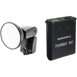 Quantum Instruments Qflash TRIO Flash Kit with Turbo SC Battery Pack for Canon Cameras