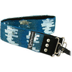 Capturing Couture Sequin Collection: Sequin Camera Strap (Ombre Teal)