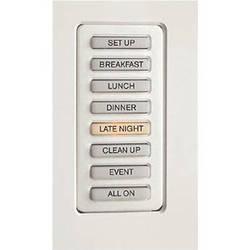 Strand Lighting 61201H Environ3 Heatsink 8-Preset Master Control Station (White Finish)