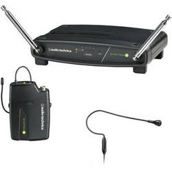Audio-Technica System 9 VHF Wireless Unipak System with PRO 92 CW Headworn Microphone