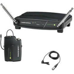 Audio-Technica System 9 VHF Wireless Unipak System with Omnidirectional Lavalier Microphone