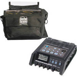 Edirol / Roland R-44 Solid-State SD Card Recorder Kit with Porta Brace Case