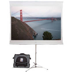 "Screen2Go S2G-020 75"" Portable Projection Screen with Briefcase"