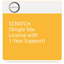 Assimilate SCRATCH (Single Site License with 1-Year Support)