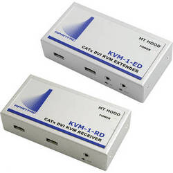 Apantac KVM Single-Port Extender/Receiver Set (DVI-D & USB)