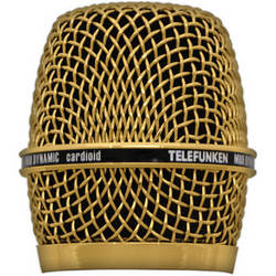 Telefunken Replacement Grill for the Telefunken M80 Dynamic Microphone (Gold)