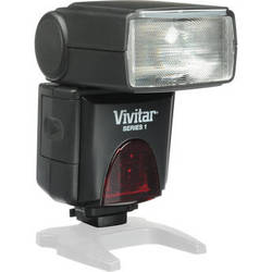 Vivitar DF-383 Series 1 Power Zoom AF Flash for Canon Cameras