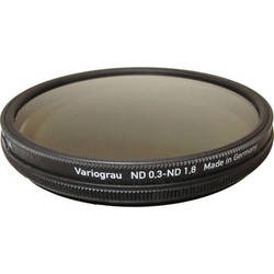 Heliopan 82mm Variable Gray ND Filter