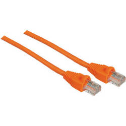 Pearstone 25' Cat5e Snagless Patch Cable (Orange)