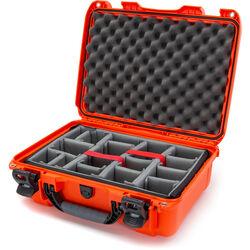 Nanuk 925 Case with Padded Dividers (Orange)