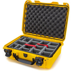 Nanuk 925 Case with Padded Dividers (Yellow)