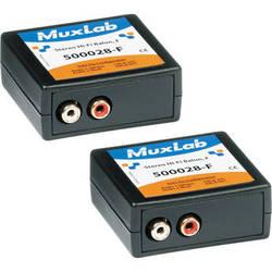 MuxLab 500028-F-2PK Stereo Hi-Fi Balun (Pack of 2)