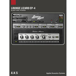 Applied Acoustics Systems Lounge Lizard EP-4 Electric Piano Synthesizer Plug-In