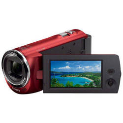 Sony HDR-CX220 HD Handycam Camcorder (Red)