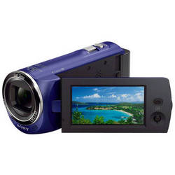 Sony HDR-CX220 HD Handycam Camcorder (Blue)