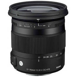 Sigma 17-70mm f/2.8-4 DC Macro OS HSM Lens for Sigma