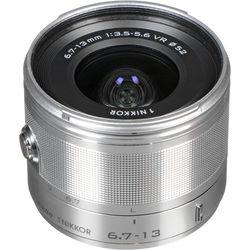 Nikon 1 NIKKOR 6.7-13mm f/3.5-5.6 VR Lens (Silver)