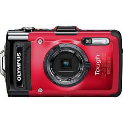 Olympus Tough TG-2 iHS Digital Camera (Red)