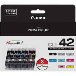Canon CLI-42 Eight-Color Ink Tank Pack