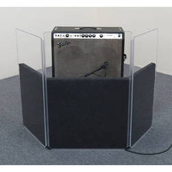ClearSonic AmpPac 33 Acrylic Sound Panels with SORBER Baffles