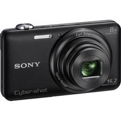 Sony Cyber-shot DSC-WX80 Digital Camera (Black)