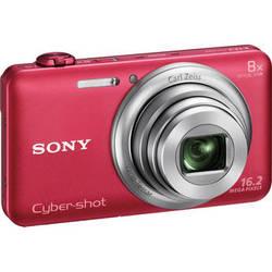 Sony Cyber-shot DSC-WX80 Digital Camera (Red)