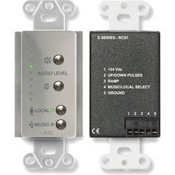 RDL DS-RCX1 Room Control (Stainless Steel)