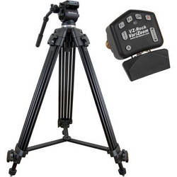 VariZoom VZ-TK75A-ROCK Video Tripod System & VZ-Rock LANC Control Kit