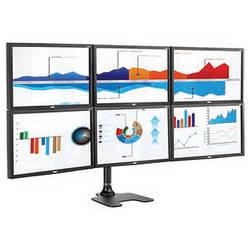 Atdec Spacedec SD-FS-H Six Monitor Desk Display Mount (Black)
