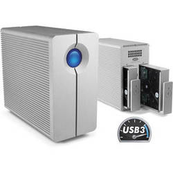 LaCie 8TB 2Big Quadra USB 3.0 2-Bay RAID