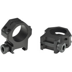 "Weaver 4-Hole Tactical 1"" Picatinny Mounting Rings (High, Matte)"