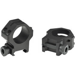 "Weaver 4-Hole Tactical 1"" Picatinny Mounting Rings (X-High, Matte)"