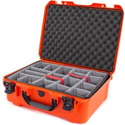 Nanuk 940 Case with Padded Dividers (Orange)