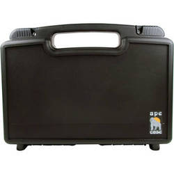 Ape Case Small Multipurpose Lightweight Briefcase with Foam Inserts (Black)