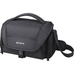 Sony LCS-U21 Soft Carrying Case (Black)